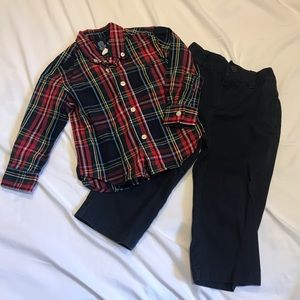 CHAPS 18 Month Outfit